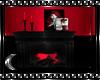 Goth Red Vampire Room