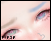 P  Blonde/Blue Split