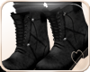 !NC Boots with Socks Blk