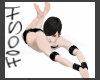 submissive floor pose