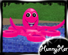 Hot Pink Octopus Float