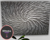 onyx silver abstract art