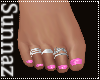 (S1) Pink Beach Toes