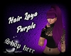 Hair Laya Purple