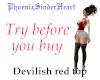 Devilish red top