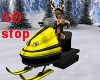 North Pole Sled go/stop