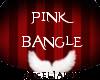*AJ* Pink Bangle