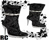 RC BLACK SPARKLING BOOTS
