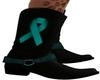Teal Cowgirl Boots