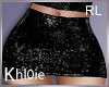 K black skirt RL