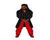 Dress pants-Red
