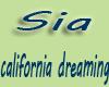 Sia-California dreaming