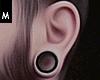 Ear Plugs Black.