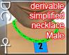 [DC] EasyDer NecklacMALE