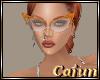Orange Cat Eye Glasses