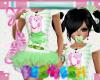Piggy TuTu - Green