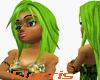 F> Lime Garnet Hair NC