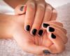 Black Short Nails