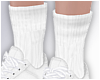 -A- Add-on White Socks