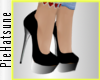 ~P; Precious Pumps Black