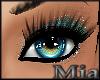 [mm] Glitter makeup Aqua