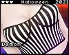 �Spooky Bustier BW