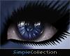 [sc] Blue Panda Eyes