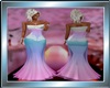 Coloured Balldress Long