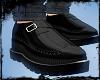[Gel]Black Leather shoes