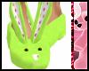 ^j^ Kawaii Slippers Mint