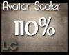 LC Avatar Scaler 110% F