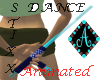 {Ama Dance Sticks Aqua