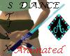 {Ama Dance Sticks Aqua