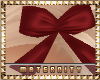 Red Bow Ribbon Little