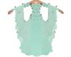 Mint Fleur Gown