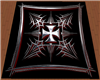 [KDM] Iron Cross Rug red