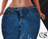 Glitter design pants