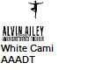 AAADT White Dance Cami