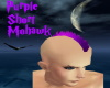 Purple Short Mohawk