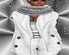 FG~ Jacket & Scarf White