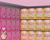 e cereals box