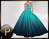 +P+ teal gown