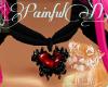 P~ Gothic Heart Collar r