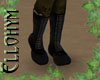 ~E- Flat Boots Black