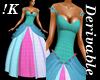!K!Delure Gothic Gown