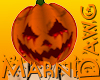 Scary Pumpkin Head