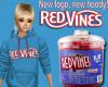 New Logo Red Vines Hoody