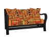 Autumn Halloween Bench
