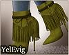 [Y] Cardi green boots