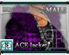[BE]  ACE Jacket Purpl M